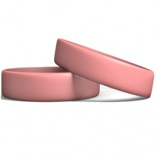 Silicone Wristband Manufacturer: Pink color