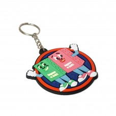 Rubber Silicone Keychain