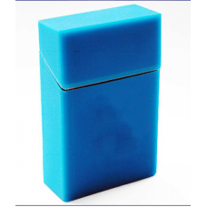 Blue Silicone Cigarette Case