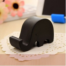 Silicone Mobile Stand - Black
