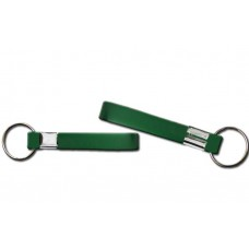 printed wristband key chain green 13mm