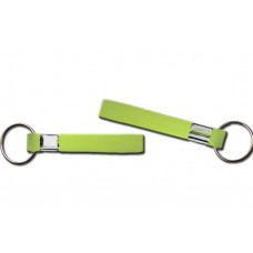 printed wristband key chain neo green 13mm