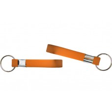 printed wristband key chain orange 13mm