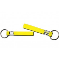 printed wristband key chain yellow 13mm