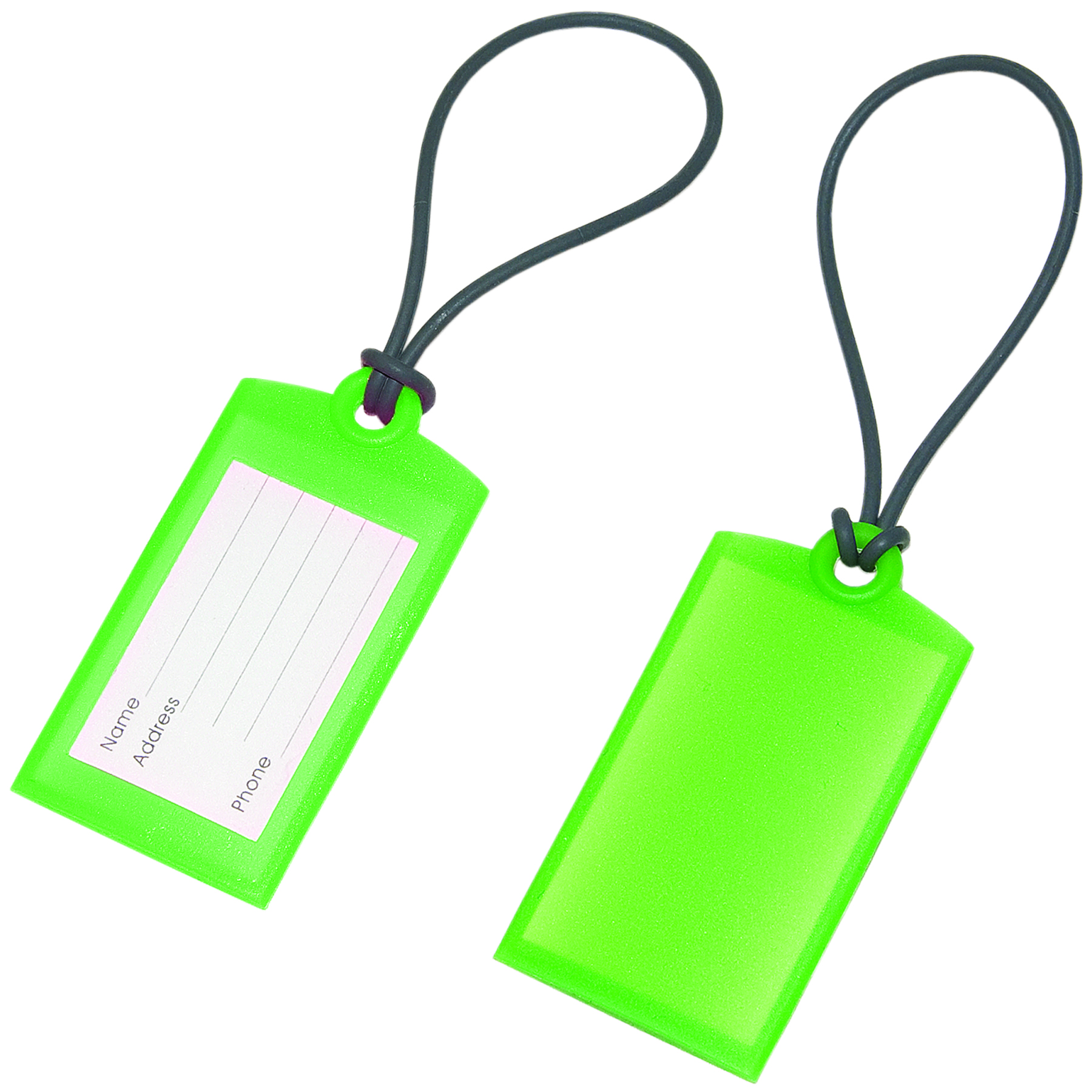 Soft Silicone Luggage Tags | Amazing Art